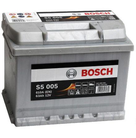 Bosch 12V 63Ah S5005 - Startbatteri