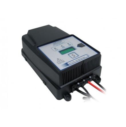 Batteriladdare 12V, 24V 25-40A För GEL,AGM och vätskebatterier 165-440Ah/20Ah