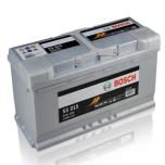Bilbatteri 12V 110 Ah Bosch S5015 DIN: 610402092 LxBxH:393x175x190mm