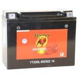 MC-batteri 22Ah YTX50L-BS Banner 52214 LxBxH:205x87x162mm
