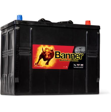 Startbatteri 12V125Ah BannerBuffaloBull 62511.LxBxH:345x172x260/283mm Banner Bäst i Testfakta 2013 och 2015