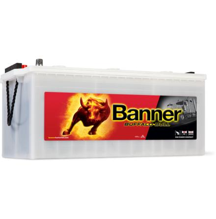 Startbatteri 12V225Ah BannerBuffaloBullSHD 72511.LxBxH:480/513x273x212/240mm