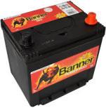 Bilbatteri 12V 60Ah Banner Power Bull P6062. LxBxH:233x173x203/225mm  Banner Bäst i Testfakta 2013 och 2015