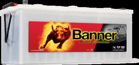Startbatteri 12V180Ah BannerBuffaloBullSHD 68032.LxBxH:480/513x223x195/220mm