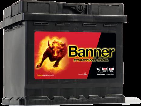Bilbatteri 12V 45Ah Banner Starting Bull 54559. LxBxH:210x175x190mm Bäst i Testfakta 2013 och 2015