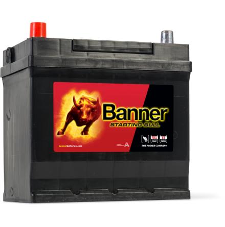 Bilbatteri 12V45Ah Banner StartingBull 54579. LxBxH:218x135x203/225mm Banner bäst i Testfakta 2013 och 2015