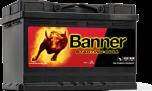 Bilbatteri 12V72Ah BannerStartingBull 57212 57412. LxBxH:278x175x190mm Bäst i Testfakta 2013 och 2015