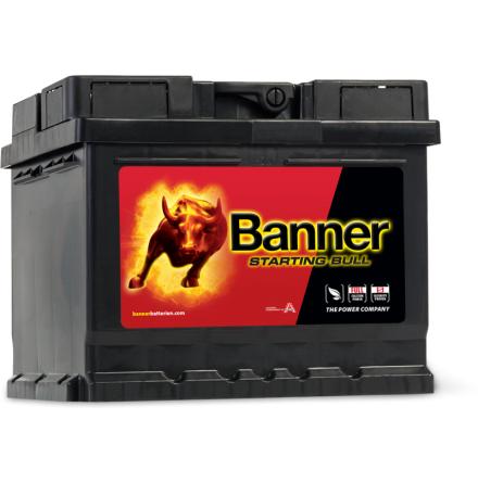 Bilbatteri 12V 44Ah Banner Starting Bull 54409. LxBxH:210x175x175mm. Bäst i Testfakta 2013 och 2015