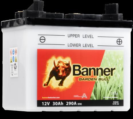 Batteri Banner Garden Bull 30Ah