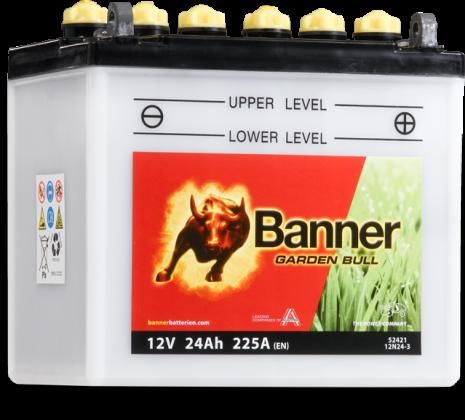 Batteri Banner Garden Bull 24Ah
