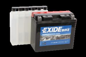 Tudor Exide MC batteri 10Ah AGM YT12B-BS 4906 lxbxh=150X70X130mm