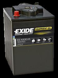 Fritidsbatteri 195Ah GEL Tudor Exide GEL ES1000-6 LxBxH:245x190x275mm