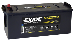 Fritidsbatteri 140Ah GEL Tudor Exide GEL ES1600 LxBxH:515x225x225mm