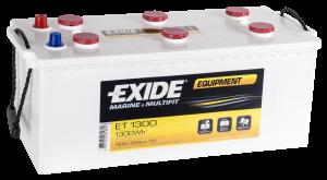 Fritidsbatteri 12V 180Ah Tudor Exide ET1300 LxBxH:480/515x225x225mm