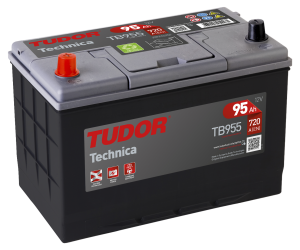 Startbatteri 95Ah Tudor Exide TA955 High Tech. LxBxH:306x175x222mm